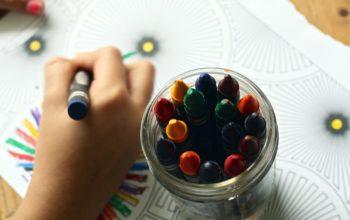 Brug tiden på kreative sysler med børnene